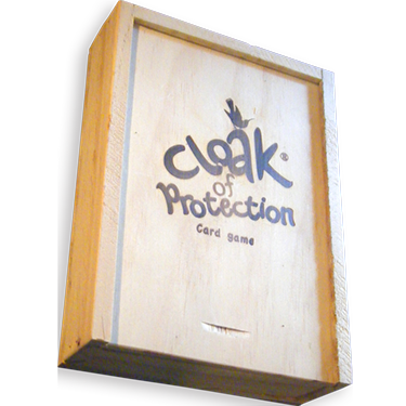 Cloak of Protection Wooden box