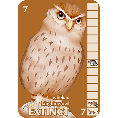 Laughing Owl card