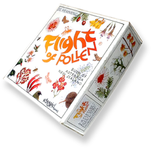 Flight of Pollen board game box